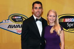 Aric Almirola et sa femme Janice