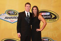 Carl Edwards et sa femme Kate