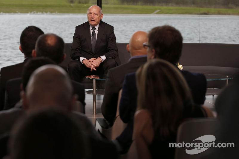 Ron Dennis, directivo y CEO de McLaren