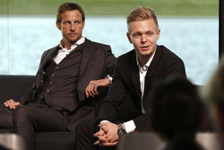 Jenson Button e Kevin Magnussen, McLaren Honda