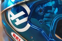 Casque spécial de Romain Grosjean pour le GP de France