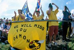 Damon Hill, Jordan fans