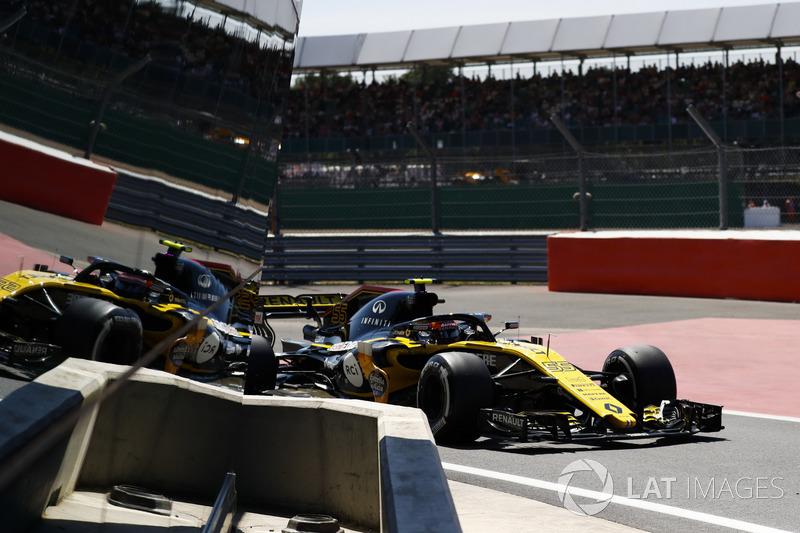 16. Carlos Sainz Jr., Renault Sport F1 Team R.S. 18