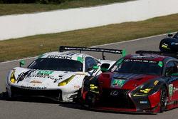 #63 Scuderia Corsa Ferrari 488 GT3, GTD: Cooper MacNeil, Jeff Segal #15 3GT Racing Lexus RCF GT3, GTD: Jack Hawksworth, David Heinemeier Hansson