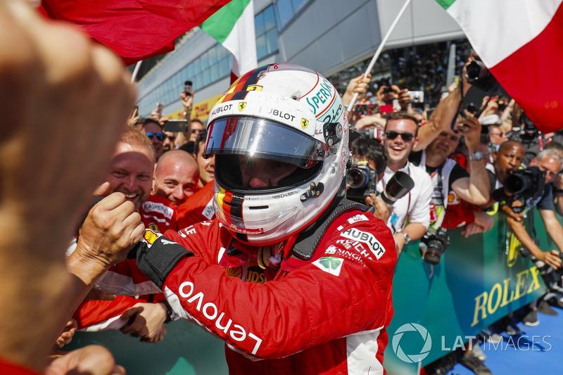 Vettel, Prost'u yakaladı