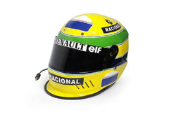 Le casque d'Ayrton Senna (1994)