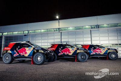 Preparaciones finales de Peugeot