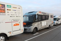KTM preparations for the 2015 Dakar