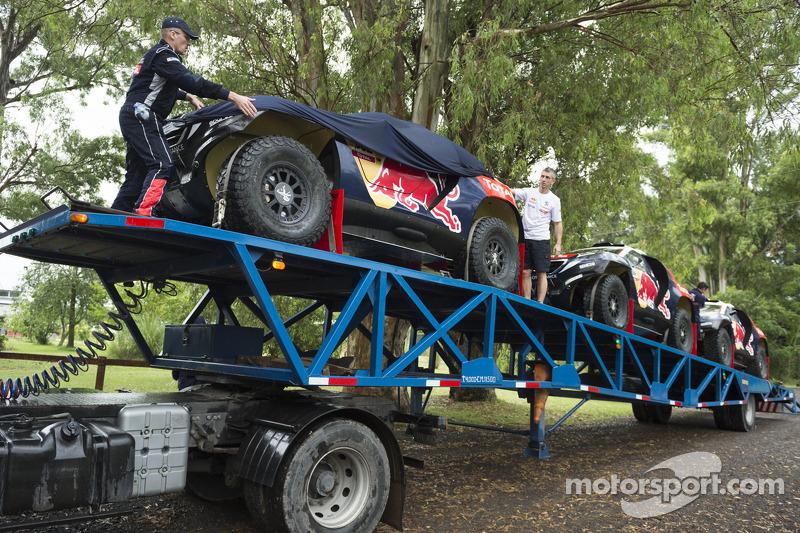 Peugeot Team прибув для testing
