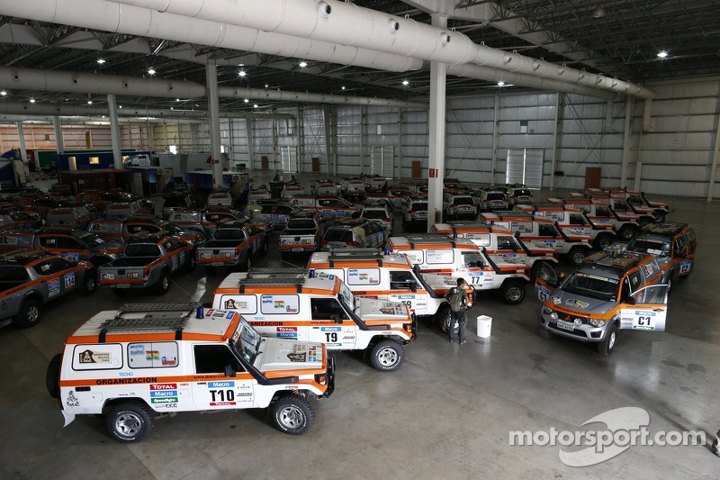Official support vehicles