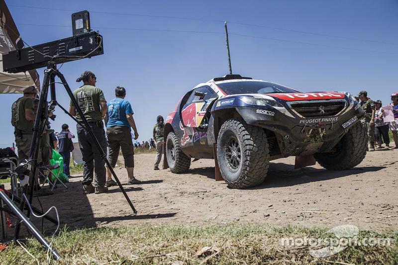 #304 Peugeot: Carlos Sainz, Lucas Cruz