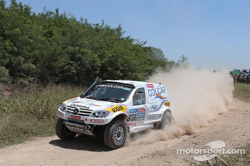 #336 Mercedes: Juan Silva, Juan Pablo Sisterna