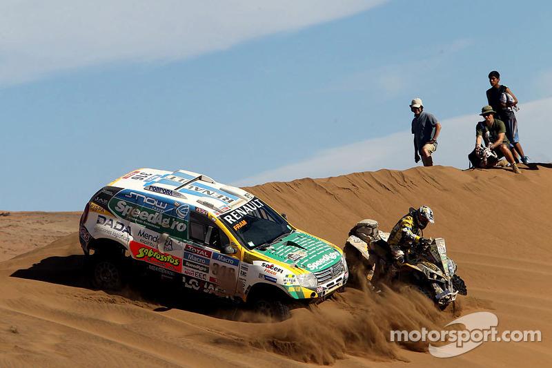 #316 Renault: Emiliano Spataro, Benjamin Lozada and #279 Can-Am: Lucas Innocente