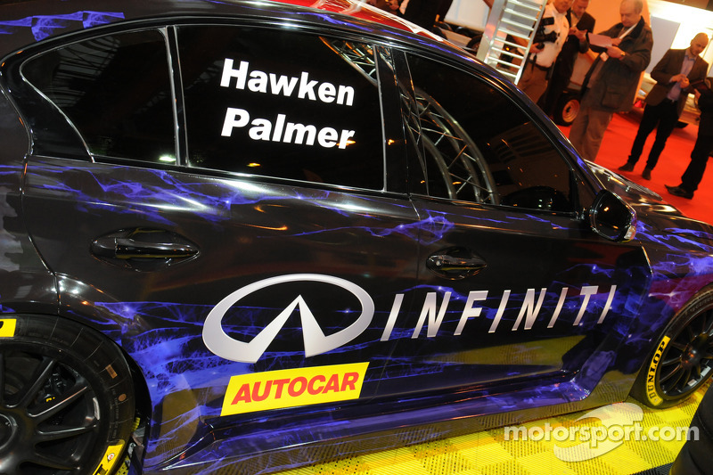 Infinity Support Our Paras Racing, Infinity Q50