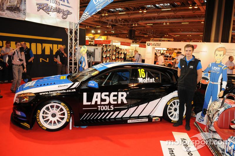 Aiden Moffat e la sua Laser Tools Racing Mercedes A Class