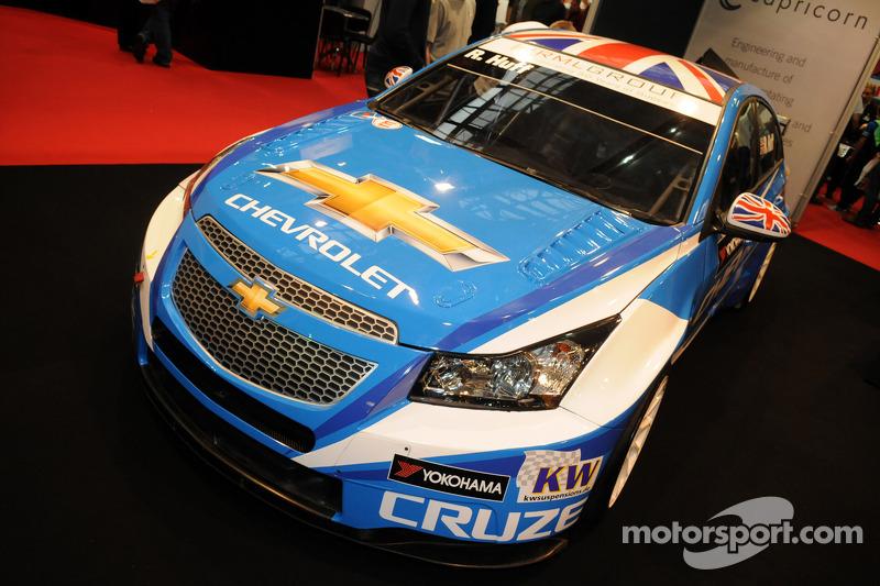 Der Chevrolet Cruze, mit dem Rob Huff 2012 die Tourenwagen-WM gewonnen hat