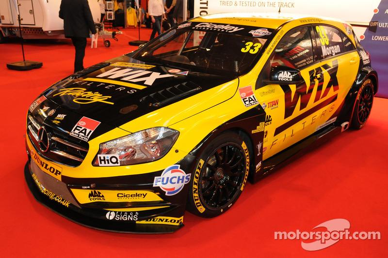 Adam Morgan, Wix Racing,梅赛德斯A-Class