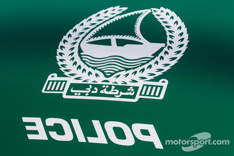 Dubai police exotic cars on display, detail