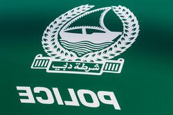 Le macchine della polizia di Dubai in mostra, particolare