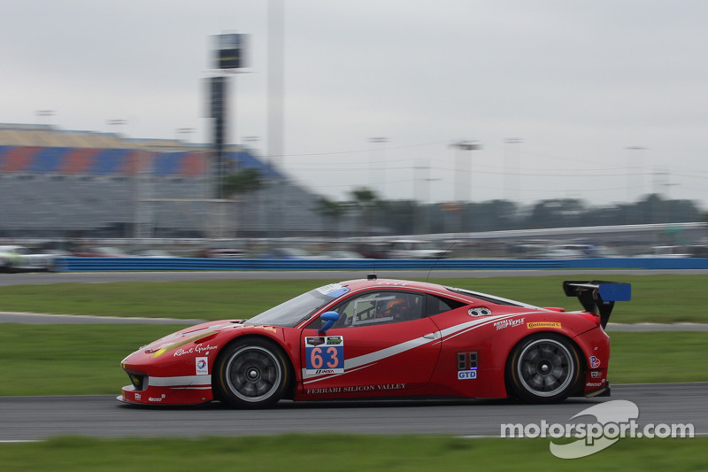 #63 Scuderia Corsa, Ferrari 458 Italia: Bill Sweedler, Townsend Bell, Anthony Lazzaro, Jeff Segal