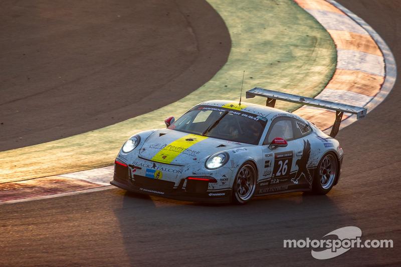 #26 Black Falcon, Porsche 991 Cup: Saud Al Faisal, Anders Fjordbach, Keita Sewa, Andreas Weishaupt,