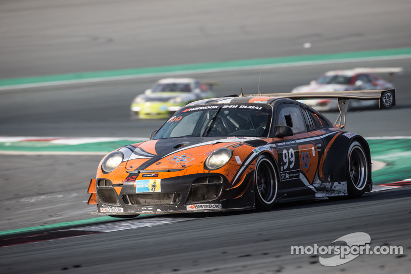 #99 Attempto Racing Porsche 997 GT3 R: Arkin Aka, Andreas Liehm, Bernd Kleinbach, Philipp Wlazik, Bi
