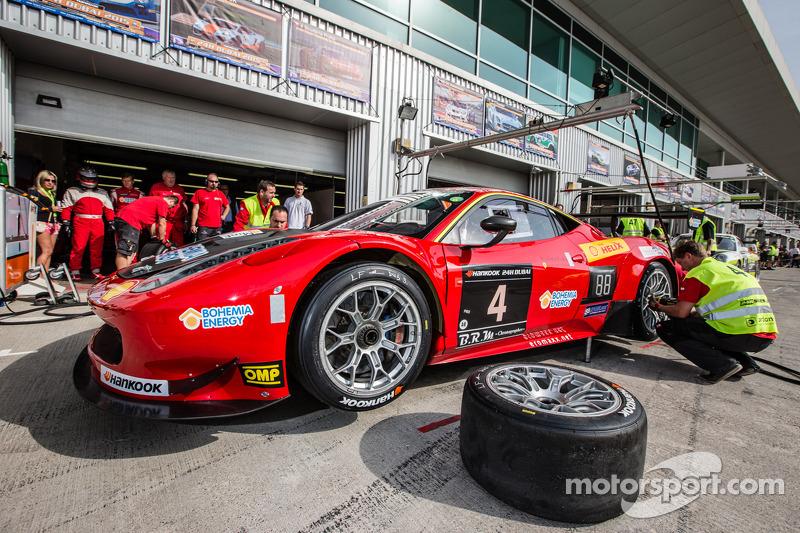 #4 Scuderia Praha, Ferrari 458 Italia GT3