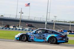 #23 Team Seattle/Alex Job Racing,保时捷911 GT America: Ian James, Mario Farnbacher, Alex Riberas