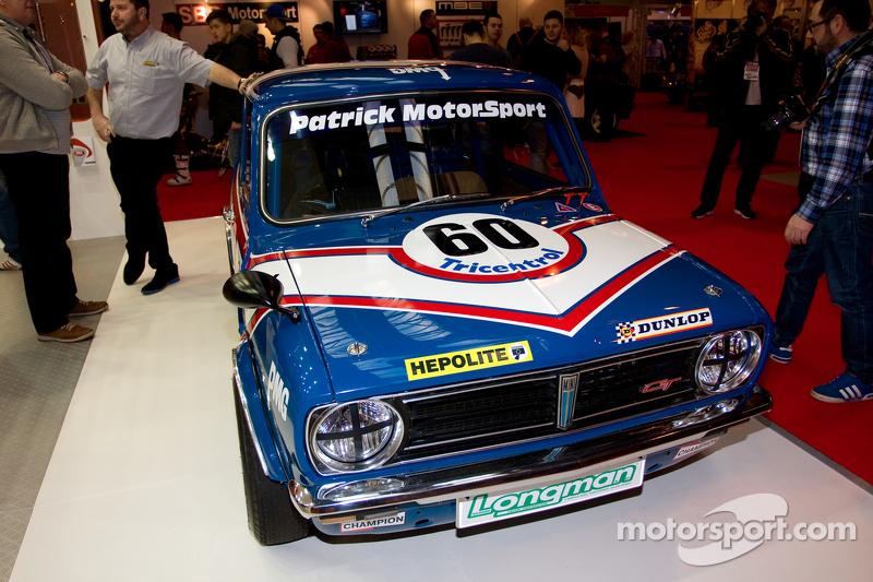 Mini classic rally car