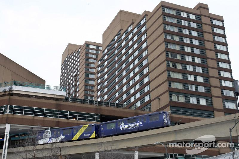 Detroit-Stadtzentrum, Kulisse