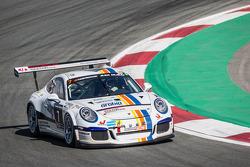 #7 Lechner Racing Middle East Porsche 991 Cup: Fahad Algosaibi, Clemens Schmid, Klaus Bachler, Jaap