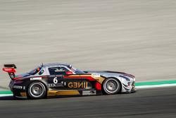 #6 Gravity Racing International Mercedes SLS AMG GT3: Vincent Radermecker, Eric Lux, Gérard Lopez, L
