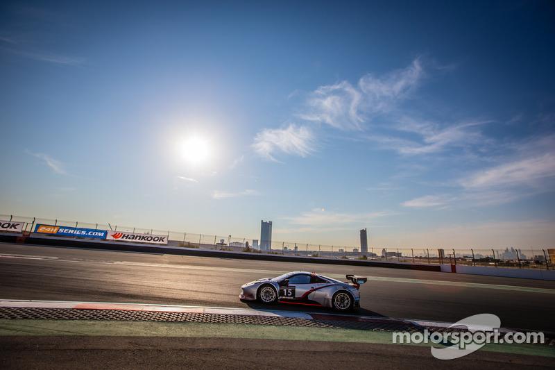 #15 Glorax Racing, Ferrari 458 Italia GT3: Andrey Birzhin Alexandrovich, Rino Mastronardi, Dimitri D