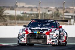 #23 Nissan GT Academy Team RJN Nissan GTR GT3: Florian Strauss, Ricardo Sanchez, Ahmed Bin Khanen, Nick Hammann, Gaetan Paletou