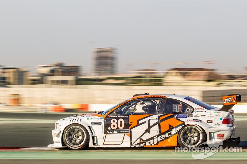 #80 RTR projects BMW M3 E46 GTR: Tomas Miniberger, Michal Vitek, Siarhei Paulavets, Milan Kodídek, T