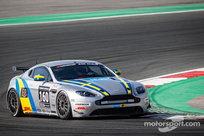 #160 ALFAB Racing, Aston Martin Vantage GT4: Erik Behrens, Daniel Roos, Henric Skoog, Patrik Skoog
