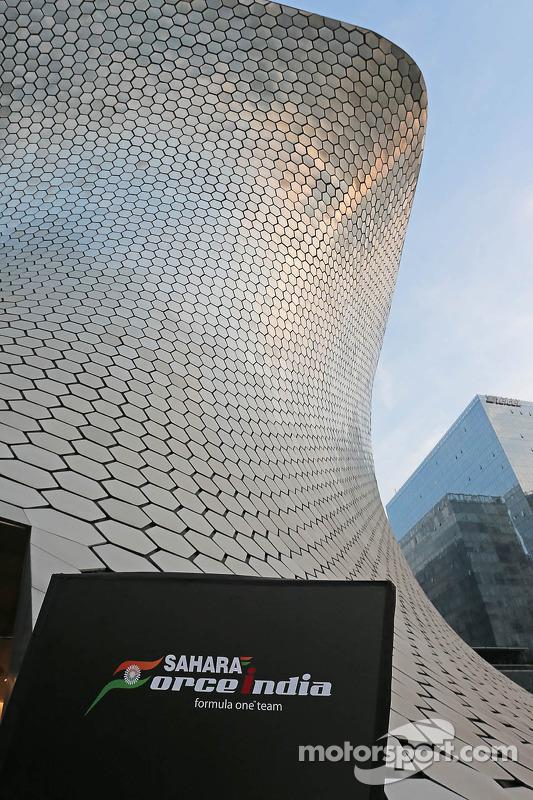 Museu Soumaya - local onde o 2015 Sahara Force India F1 Team terá pintura revelada