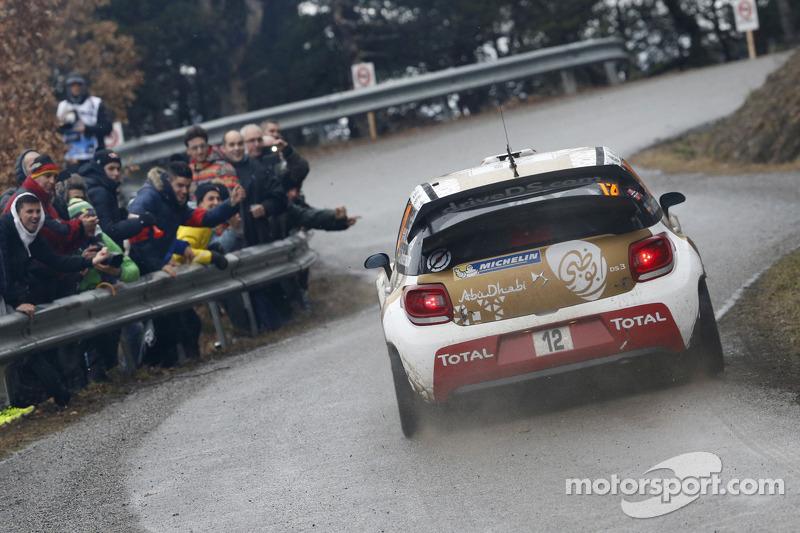 Медс Остберг та Йонас Ендерсон, Citroën DS3 WRC, Citroën Total Abu Dhabi World Rally Team