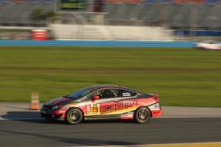 #75 Compass360 Racing, Honda Civic Si: Paul Holton, Kyle Gimple