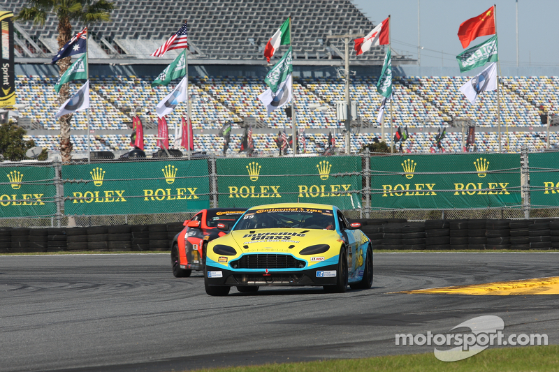 #99 Automatic Racing Aston Martin: Rob Ecklin, Steve Phillips, Dave Russell