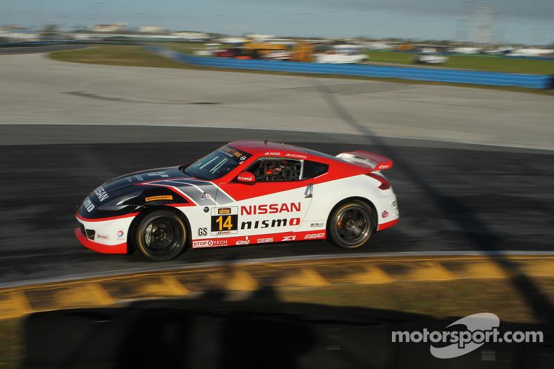 #14 Doran Racing, Nissan 370Z: BJ Zacharias, Brad Jaeger