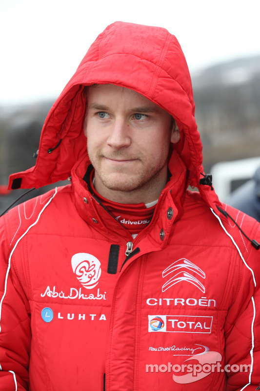 Mads Ostberg, Citroën Total de Abu Dhabi World Rally Team