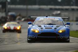 #007 TRG-AMR, Aston Martin V12 Vantage: Brandon Davis, Christoffer Nygaard, Christina Nielsen, James Davison