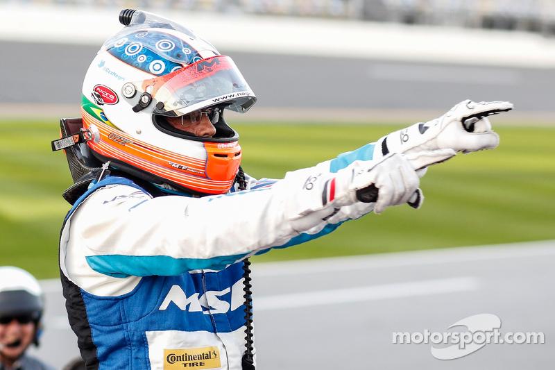 Освальдо Негрі Jr., Michael Shank Racing Aero Ligier JS PS2 Honda HPD святкує