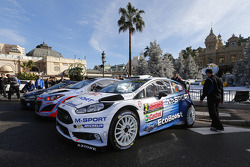 Ford Fiesta WRC on display