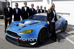 #007,TRG-AMR阿斯顿·马丁V12 Vantage: Brandon Davis, Christoffer Nygaard, Christina Nielsen, James Davison