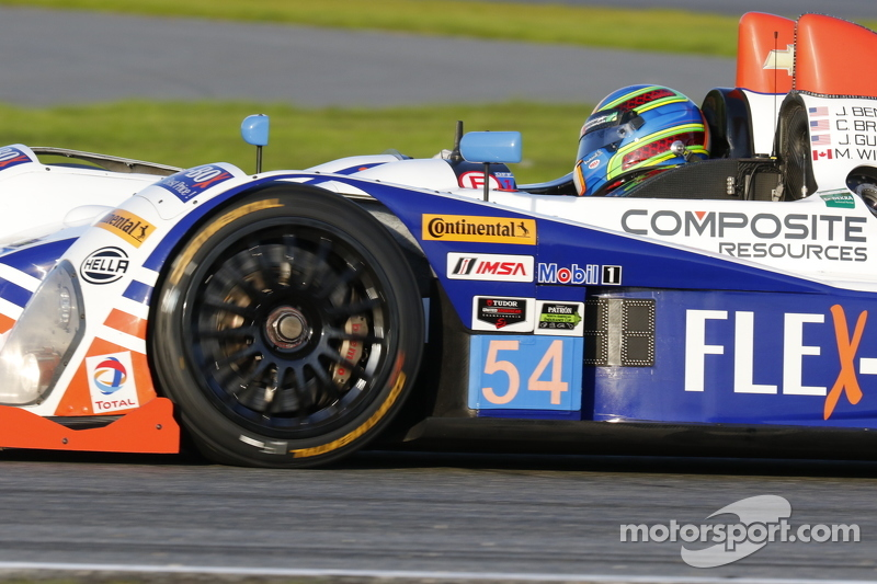 #54 CORE autosport Oreca FLM09: Джон Беннетт, Колін Браун, Mark Wilkins, James Gue