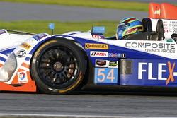 #54 CORE autosport Oreca FLM09: Jon Bennett, Colin Braun, Mark Wilkins, James Gue