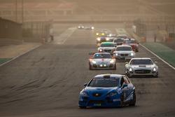 #98 WEC Motorsport, SEAT Leon Supercopa: Dave Cox, Gavin Spencer, Frank Pettitt, Jason Cox, Michael