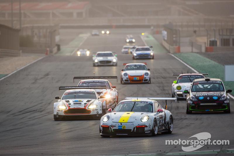 #26 Black Falcon Porsche 991 Cup: Saud Al Faisal, Anders Fjordbach, Keita Sewa, Andreas Weishaupt, Patrick Huisman